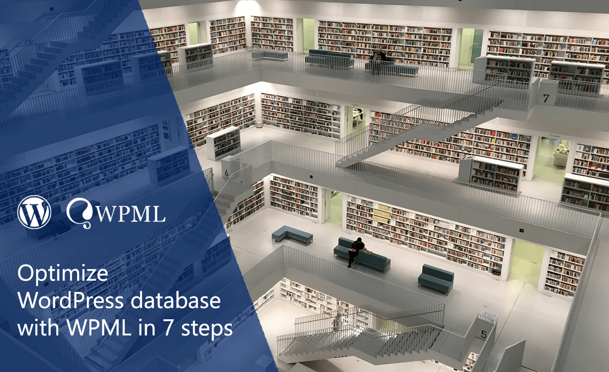 optimize WordPress database with WPML