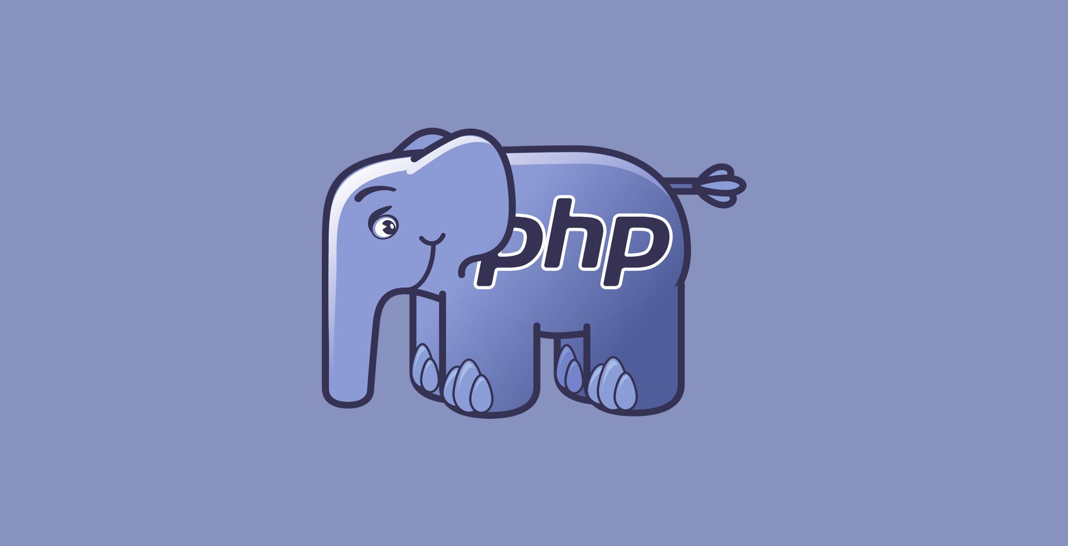 php 8 elephant